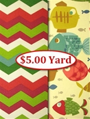Outdoor Fabric - Closeout Sale