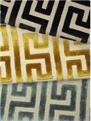 Greek Key Fabric