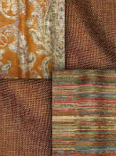 Amber Fabric by the Yard - Bronze Fabric