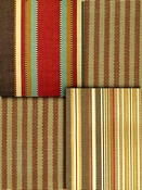 Amber Stripe Fabric