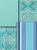 Turquoise outdoor fabric by the yard