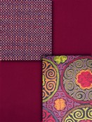 Berry Red Crypton Upholstery Fabric