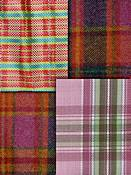 Berry Plaid Fabric