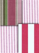 Berry Stripe Fabric