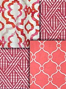 Berry Trellis Fabric