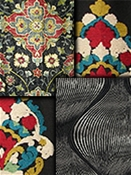 Black Medallion Fabrics