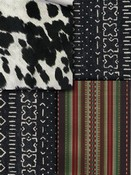 Black Southwest Lodge Fabric
