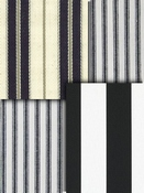 Black Stripe Fabric