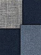 Navy Blue Herringbone Fabrics