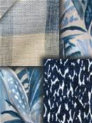 Richloom Blue Fabrics