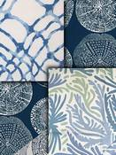 Sea Blue Coastal Fabrics