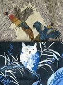 Blue Bird Fabric