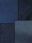 Blue Solid Fabric