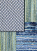 Blue Solid Texture Outdoor Fabric