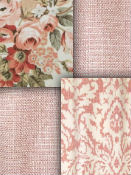 Blush Fabric - Rose Gold Fabric
