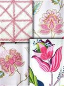 Blush Pink Embroidered Fabrics