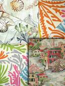 Bright Multi Coastal Fabrics