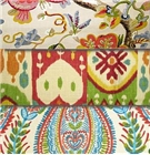 Multi color, colorful fabric for home decor fabric