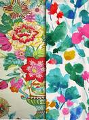 Bright Multi Floral Fabric