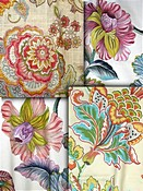 Colorful Jacobean Fabrics