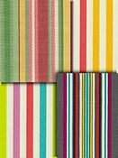 Bright Multi Stripe Fabrics