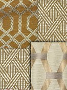 Bronze Trellis Fabric