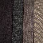 Black to Grey Colored Fabrics