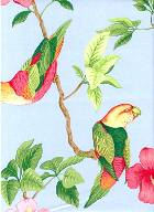 Tropical Bird Duralee Fabric
