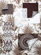 Annie Selke Chocolate Fabric