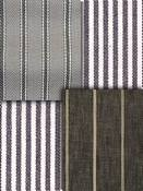 Charcoal Stripe Fabric