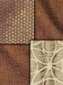 Copper Metallic Fabric