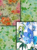 Watercolor Floral Fabric