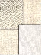 White & Cream Crypton Upholstery Fabric