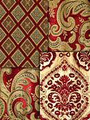 Crimson Tapestry Fabric