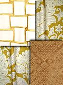 Duralee Gold Fabric colors
