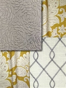 Durale Silver & Gold fabric