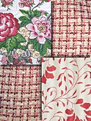 Duralee Blush pink fabric colors