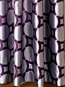 Geometric Drapery Fabric