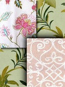 Covington Embroidered Fabric