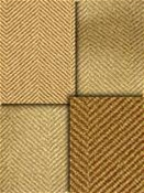 Gold Herringbone Fabric