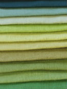 Green Linen Curtain Fabric