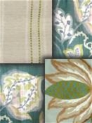 Green Richloom Fabric