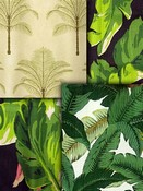 Green Leaf Fabric