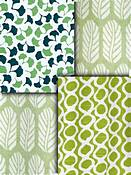 Green Small Scale Fabric