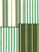 Green Stripe Fabrics