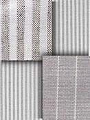 Grey Stripe Fabric