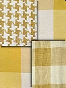 Honey Bronze Check Fabrics