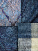 Indigo and Navy Blue Fabrics