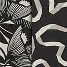 Ink Black Dwell Fabric