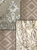 Jennifer Adams Taupe Fabric